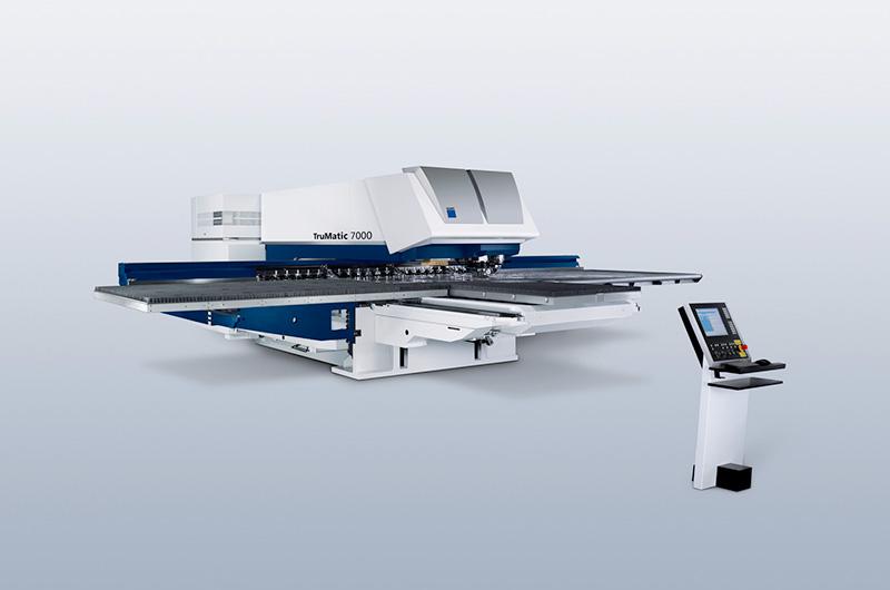 パンチレーザー複合機 TRUMPF TruMatic7000